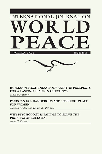 IJWP, 30:2, June 2013, pdf