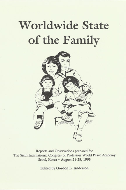 Worldwide State of the Family: Reports and Observations
