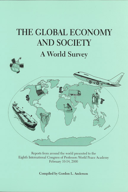 Global Economy and Society, The: A World Survey