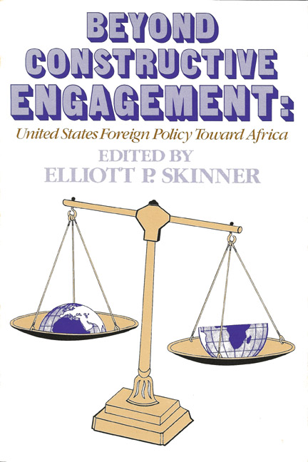 Beyond Constructive Engagement, US Policy Toward Africa