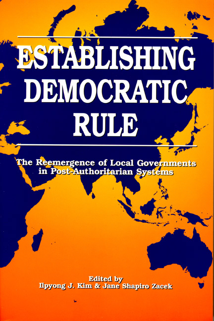 Establishing Democratic Rule