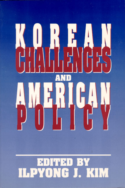 Korean Challenges and American Policy