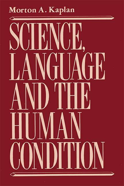 Science, Language, and the Human Condition, Revised Edition, e-book