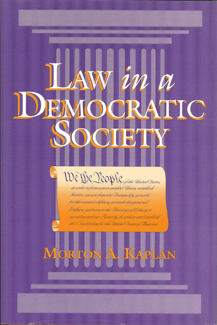Law in a Democratic Society